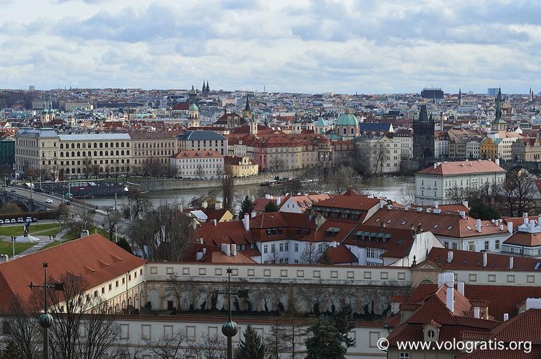 foto praga panorama castello