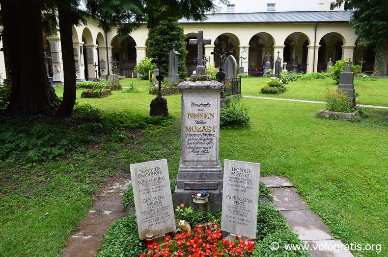 foto salisburgo tomba mozart