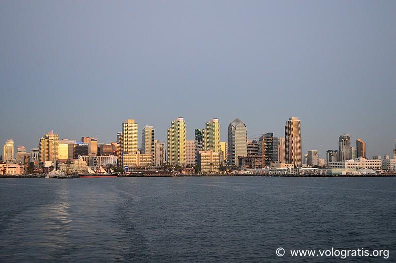 fotografia san diego skyline