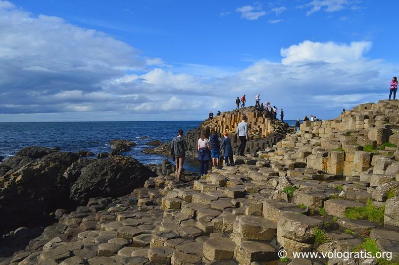 foto irlanda del nord giants causeway