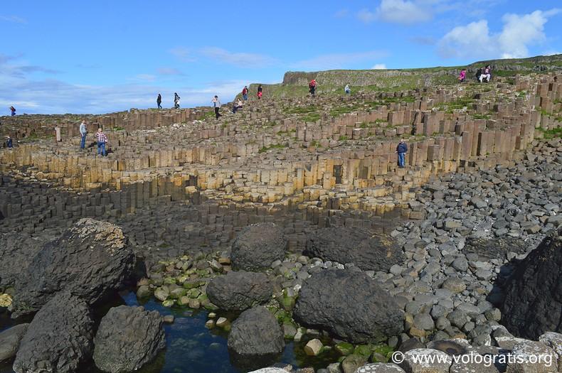 foto irlanda del nord sentiero gigante