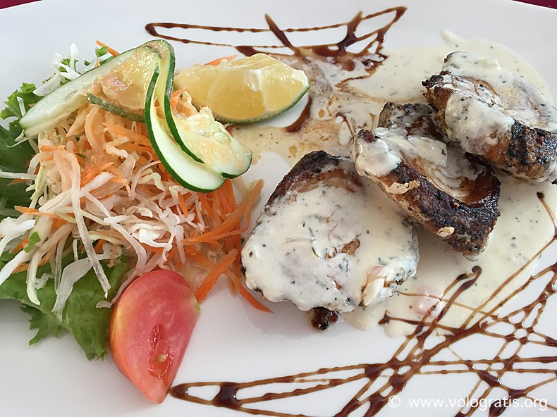 ristorante la pirogue praslin seychelles