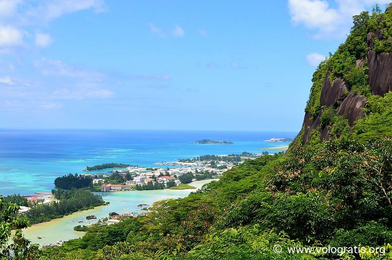panorama di mahe seychelles