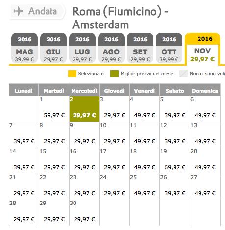promozione vueling con prezzi da 29 euro