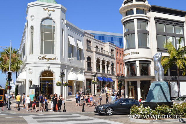 foto los angeles rodeo drive