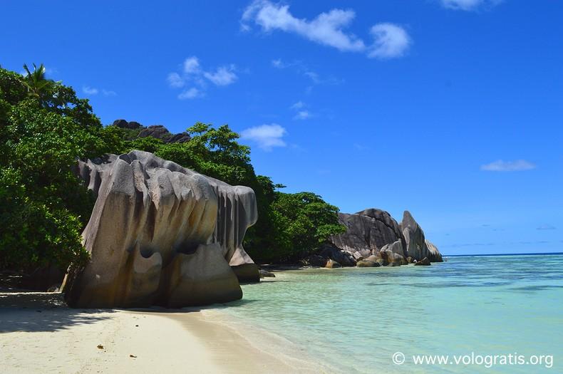 source argent digue seychelles