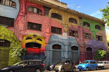 street art roma ostiense