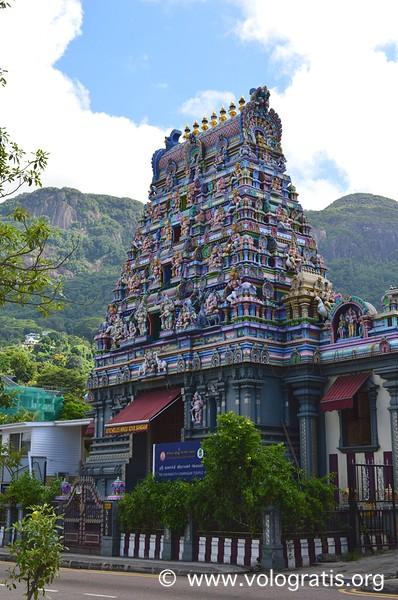 tempio indu victoria seychelles