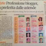 Tra i 5 blogger più famosi d'Italia