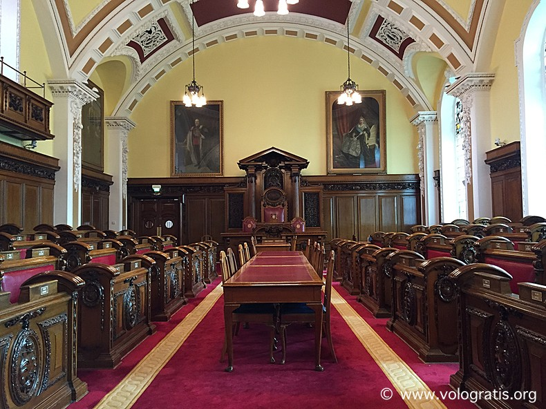 foto belfast interno city hall