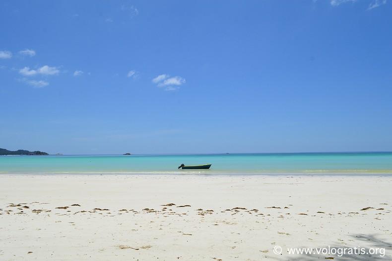 foto seychelles colore mare