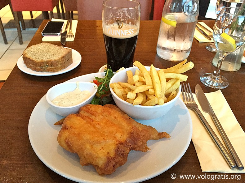 diario viaggio irlanda fish and chips