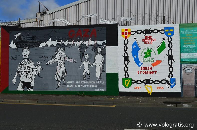 foto belfast murales