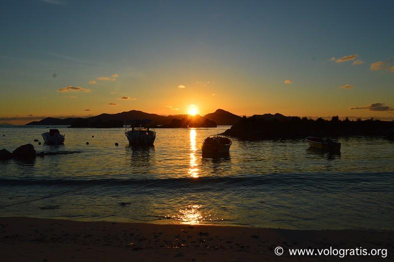 foto seychelles sunset
