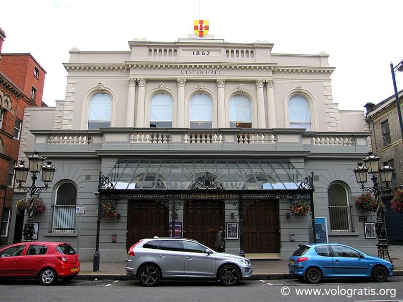foto belfast ulster hall