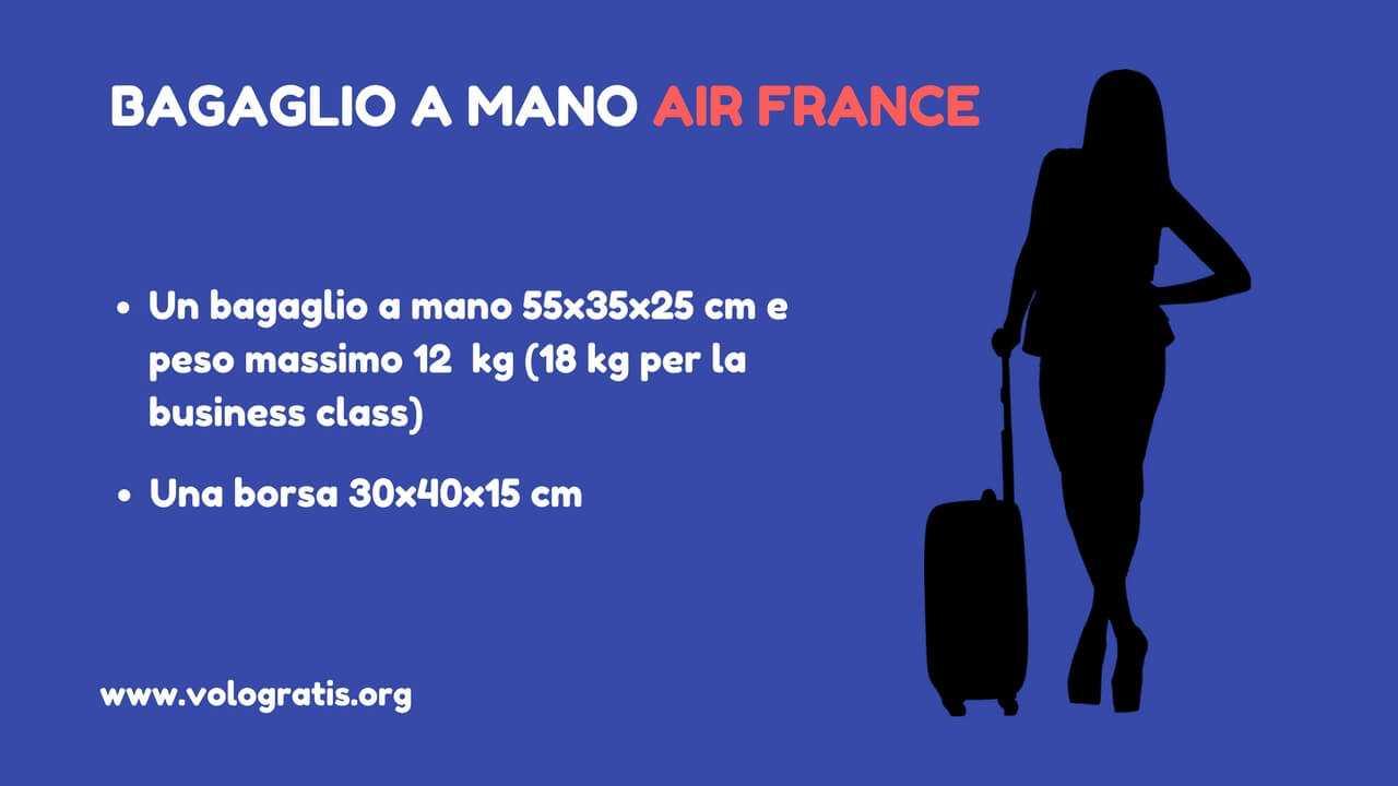 Bagaglio a mano air france peso e dimensioni for Bagaglio a mano con custodia per laptop rimovibile
