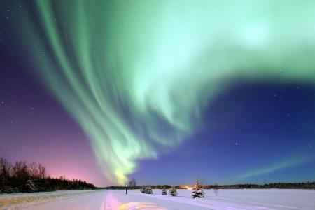 dove vedere aurora boreale