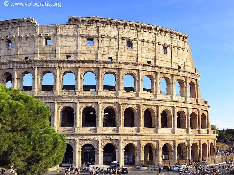 itinerario roma