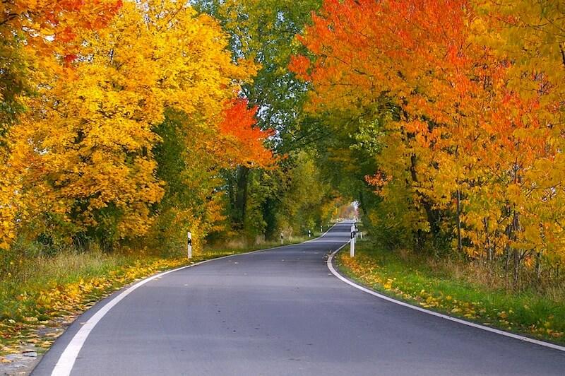 dove andare in vacanza a ottobre foliage