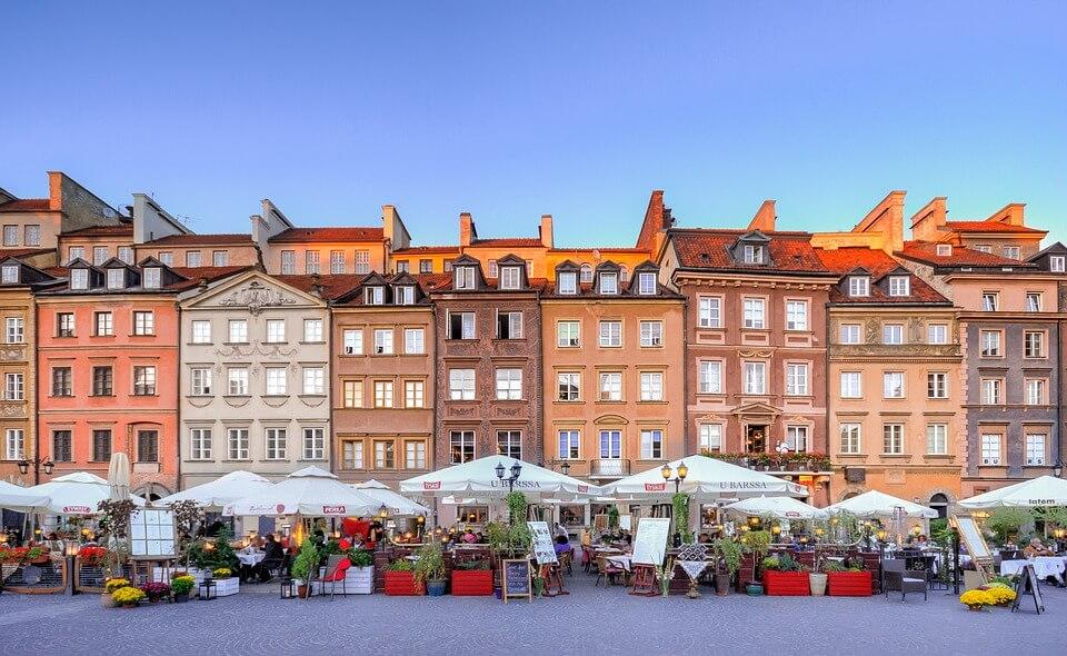 diario viaggio europa orientale varsavia