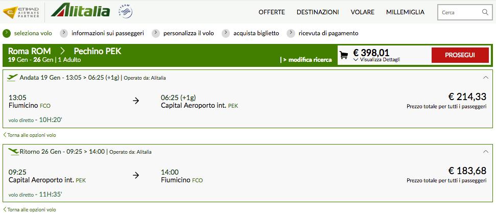 biglietti alitalia 2017