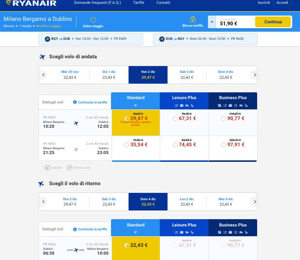 voli low cost per dublino 2