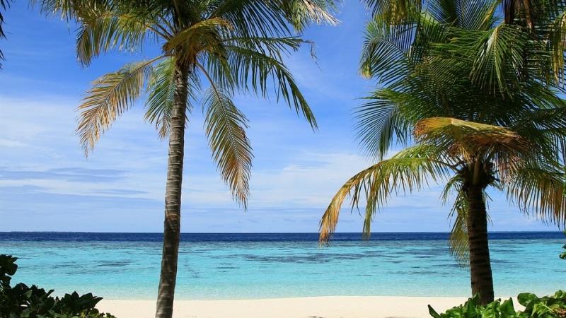 maldive spiaggia