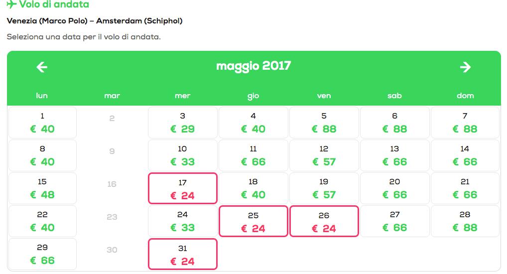 Voli low cost per amsterdam monaco e parigi da 24 euro for Voli low cost amsterdam