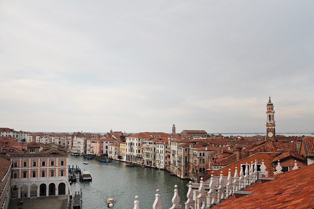 dove ammirare panorama venezia