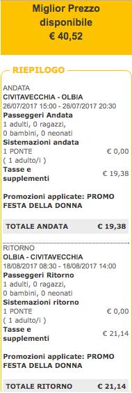 traghetti gratis 2017