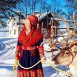 In partenza per la Lapponia finlandese