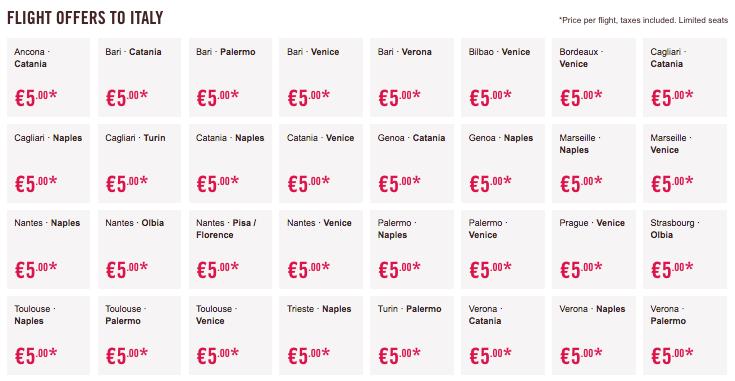 voli low cost volotea 5 euro (2)