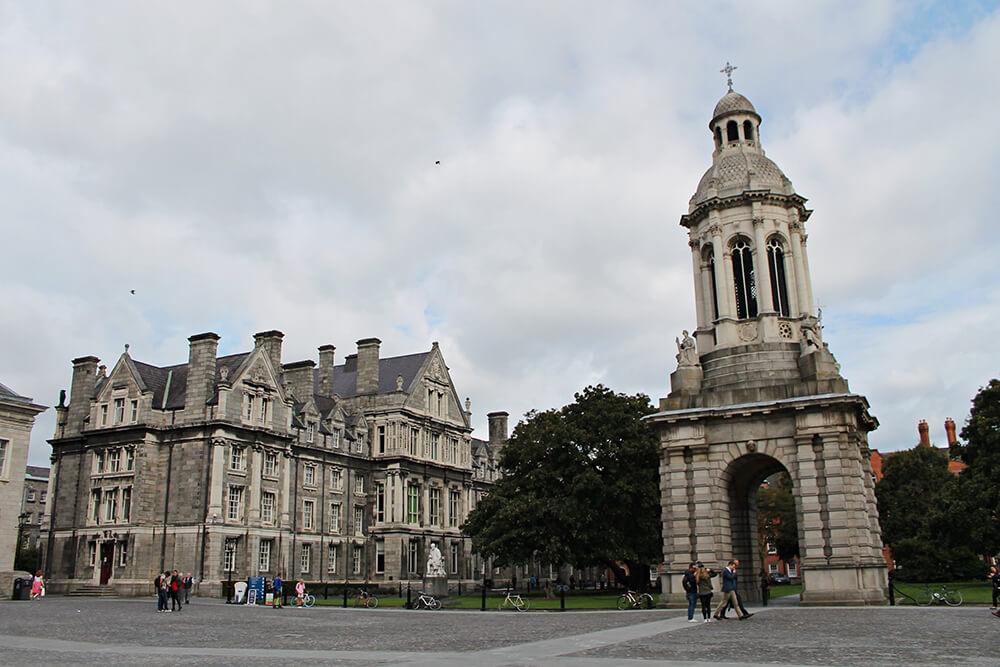 Dublino letteraria - Trinity College