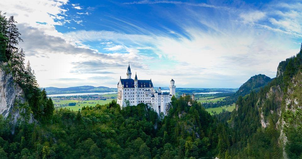 come visitare i castelli della Baviera