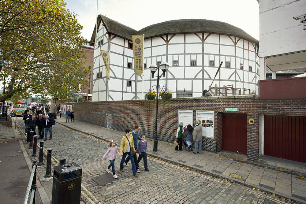 The Globe Theatre - Londra letteraria