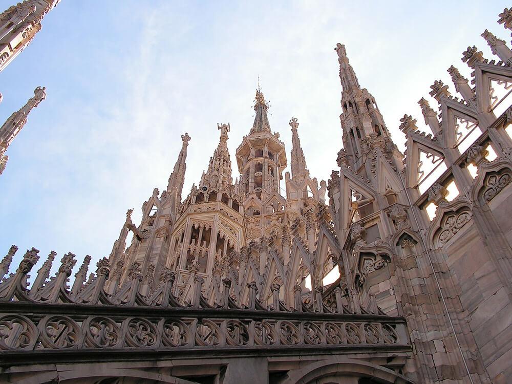 luoghi panoramici di Milano - Duomo