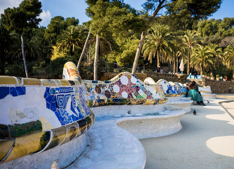 barcellona gaudi park guell