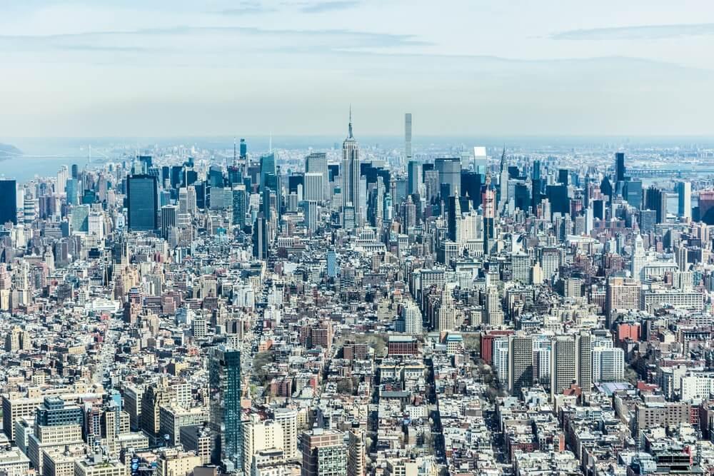Dove vedere new york dall'alto