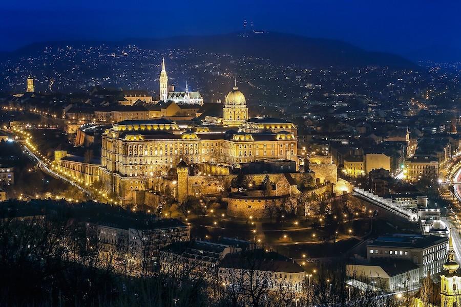 cosa vedere Budapest palazzo reale