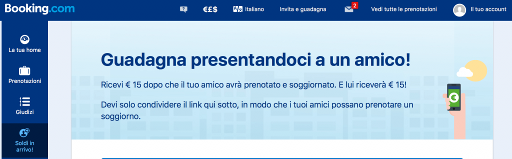 come guadagnare con booking