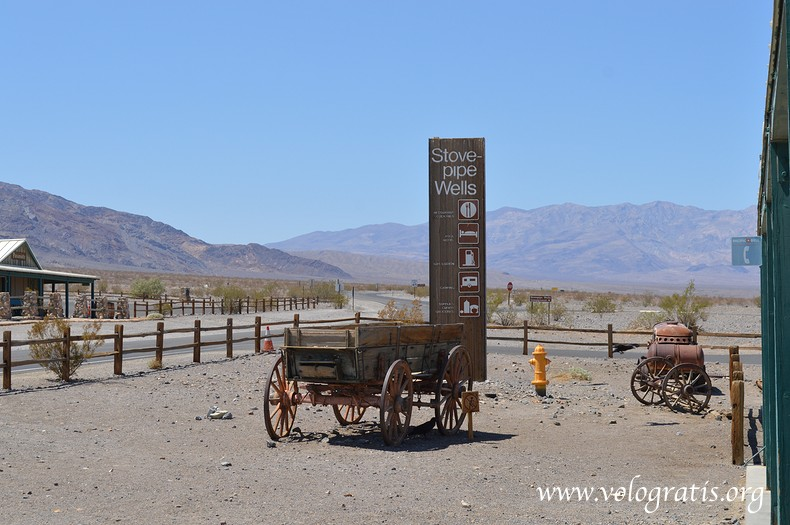 dove fare benzina nella Death Valley