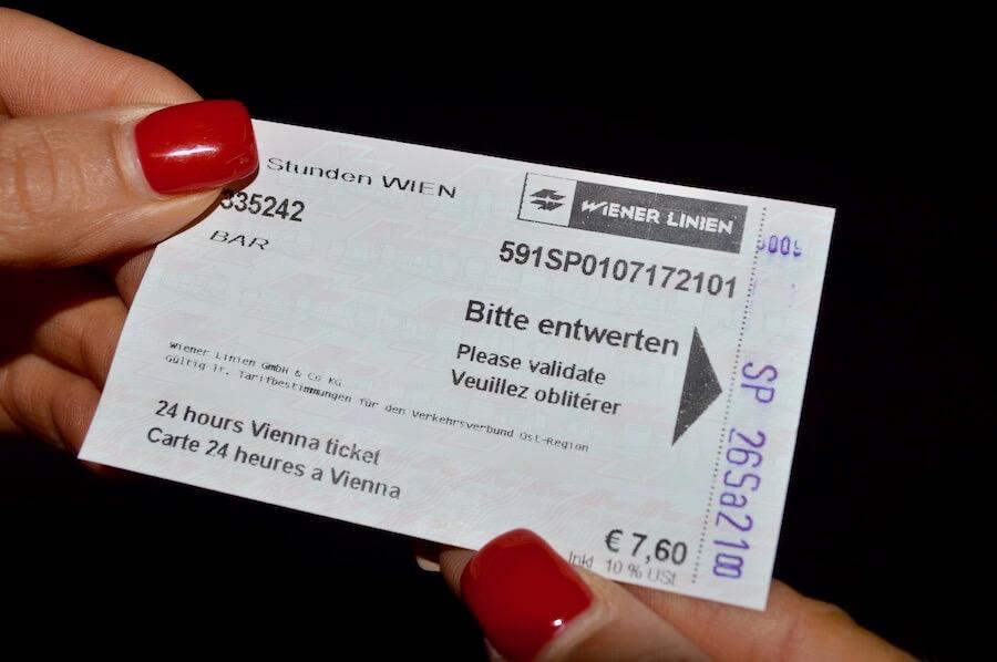 biglietto metro vienna