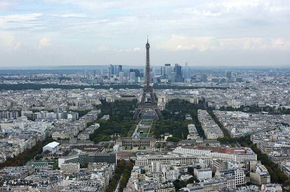 dove vedere parigi dall'alto Tour Montparnasse