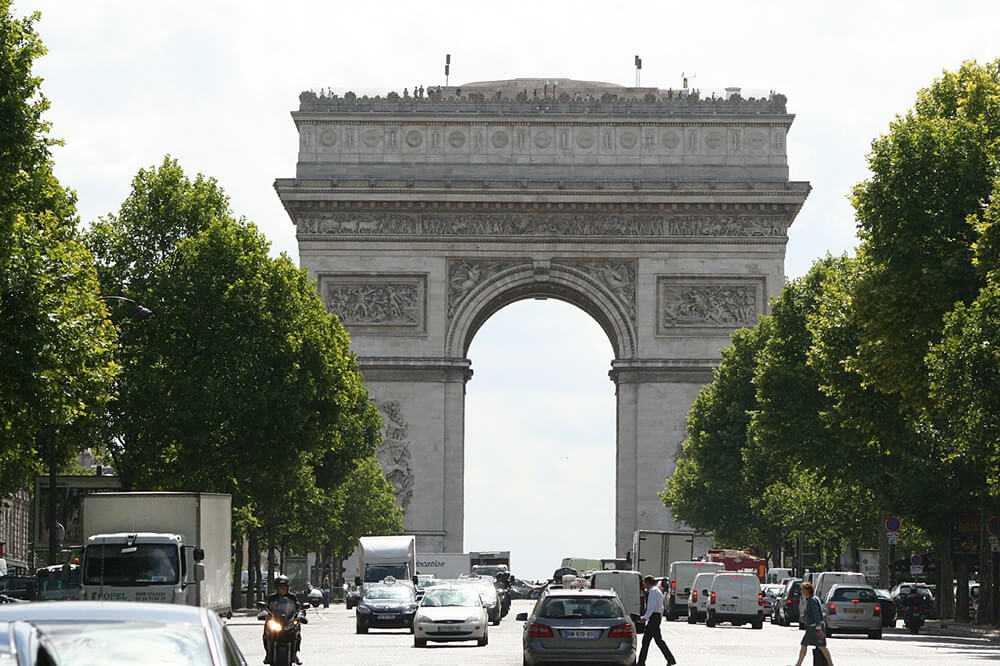 Panorami di Parigi Arco di Trionfo