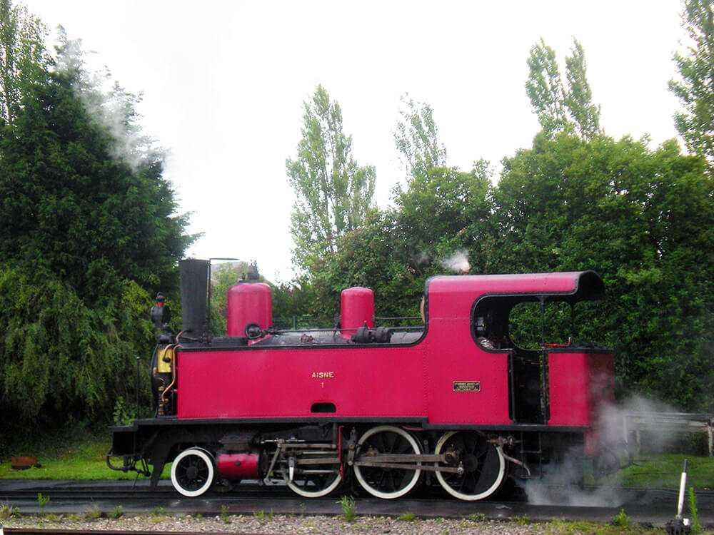 Treno a vapore - Piccardia