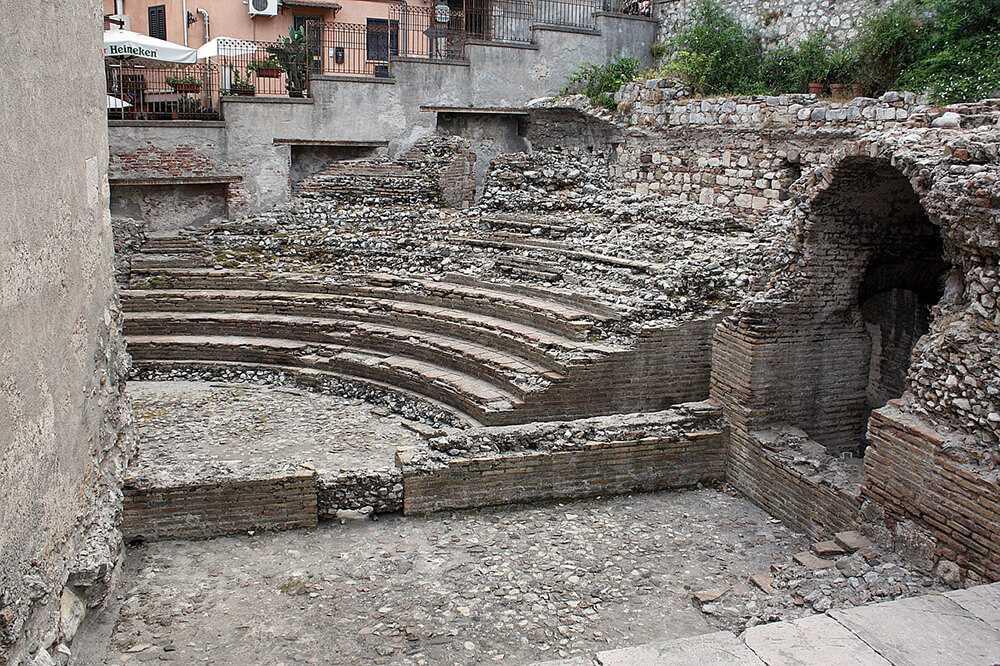 Itinerario Taormina - Odeon