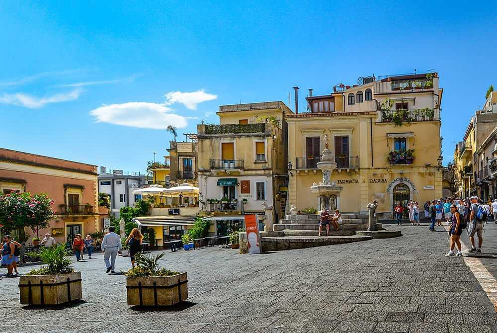 Itinerario Taormina - Piazza Duomo