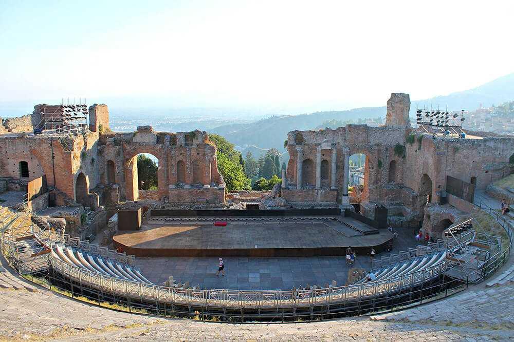 Itinerario Taormina - Teatro antico