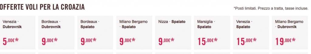 biglietti volotea 5 euro 2