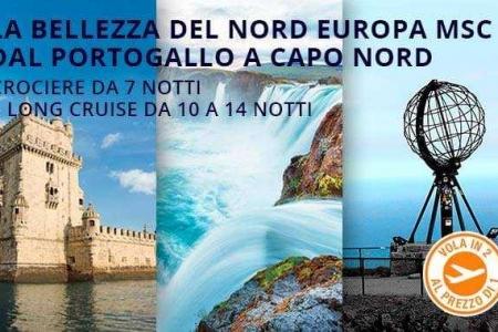 promozione volo gratis msc nord europa